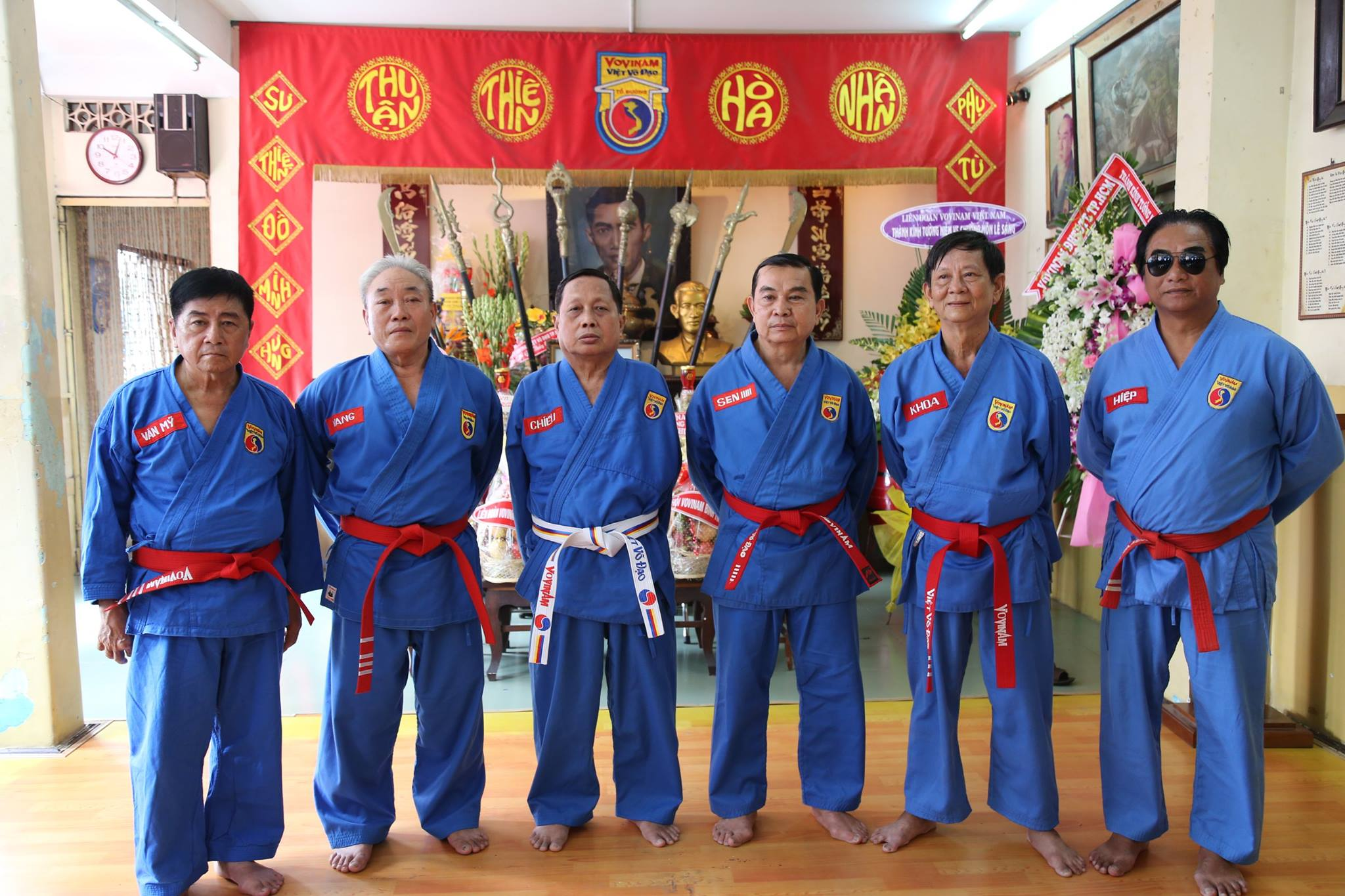 Grands Maîtres au To Duong , Vietnam