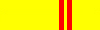 Professeur (Hoàng Đai 2) - Ceinture Vovinam Viet Vo Dao jaune 2e dang
